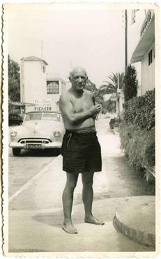 Pablo Picasso em Golf-Juan, Agosto de 1951