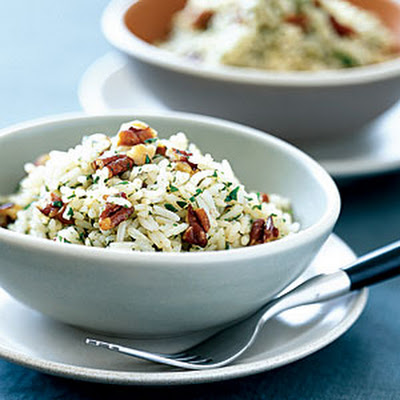 Basmati Rice with Pecans