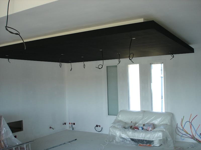 Plafond descendu for Comment faire un faux plafond