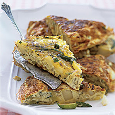 Zucchini-and-Potato Frittata