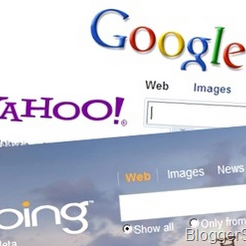 Submit site/blog to Google, Yahoo and Bing search engines