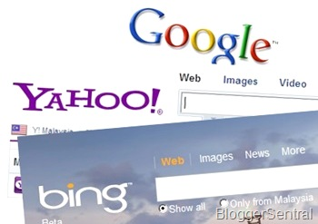 Submit blog ke Google, Yahoo dan search engine Bing