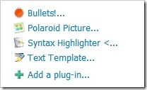 windows live writer plugin