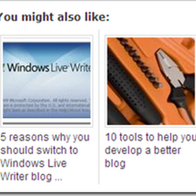 Blogger Related Posts with Thumbnails: LinkWithin