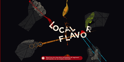"""Local Flavor"" showcase on Pictory"