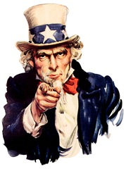Uncle Sam [image used is in the public domain]