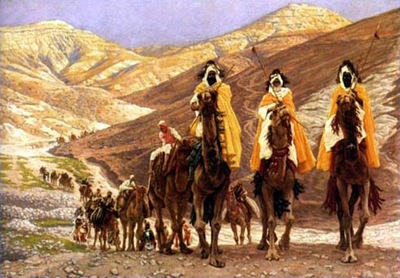 Journey of the Magi (1902) by James Tissot [used under Creative Commons license]