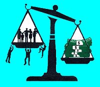 Money outweighs people on scales of justice