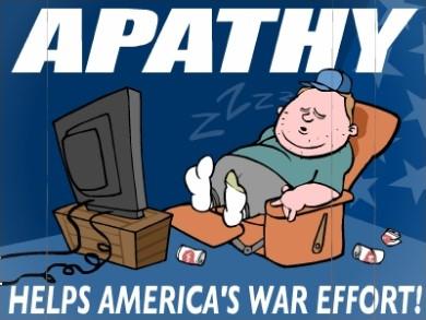 APATHY!