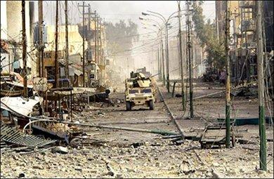 Iraq in ruins