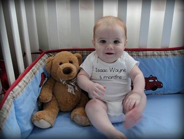 Isaac 5 months 2