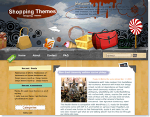 Lollipop Wordpress Theme, google adsense ready wordpress theme