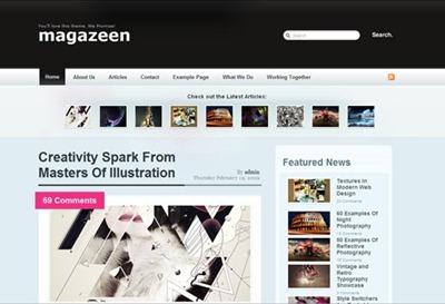 magazeen blogger template, magazine blogspot template, magazine template, magazine style template