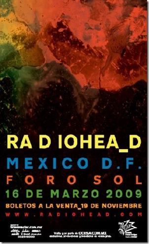 radiohead-mexico-poster