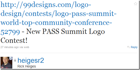 Summit Logo Contest Announcement