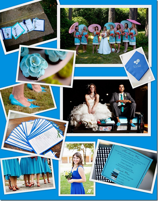 Blue Inspiration Board