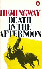 Muerte en la tarde (Ed. Inglesa) Hemingway Portada