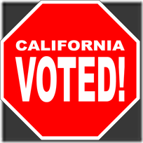 Stop! CA Voted!