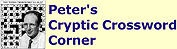 Peter Biddlecombe's Cryptic Crossword Corner