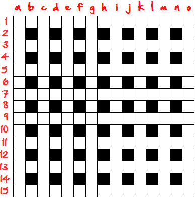 How-To-Create-Crossword-Grid: Step 2