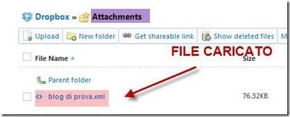 how to send zip file via dropbox