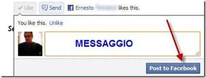 mi piace facebook condividere