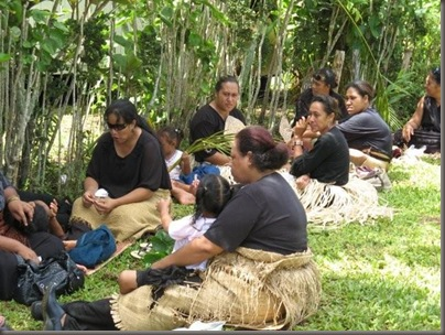 Women at a Tongan Funeral