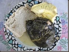 A typical Tongan Sunday meal