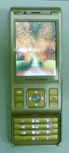 Sony Ericsson (C905-TV Китай)