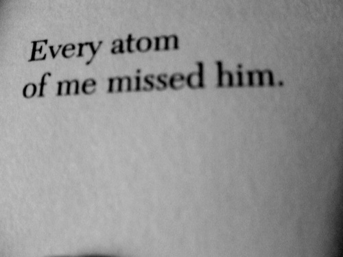 Every Atom of Me