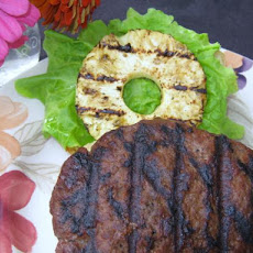 Polynesian Burgers With Pineapple