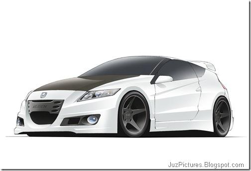 Mugen Honda CR-Z Sketches