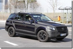 2012 Mercedes M-Class spy5