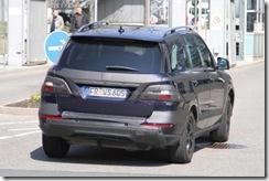 2012 Mercedes M-Class spy10