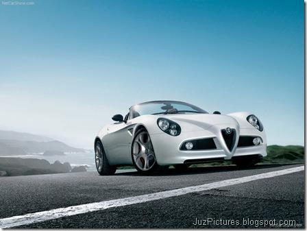 Alfa Romeo 8C Spider 1