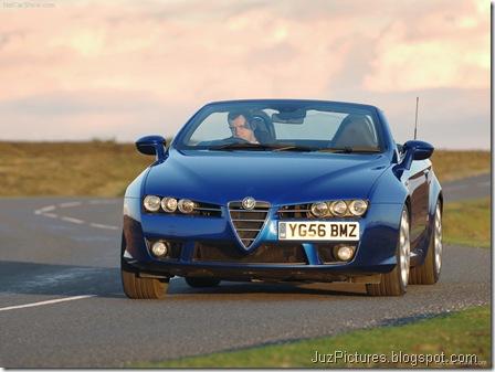 Alfa Romeo Spider UK Version9