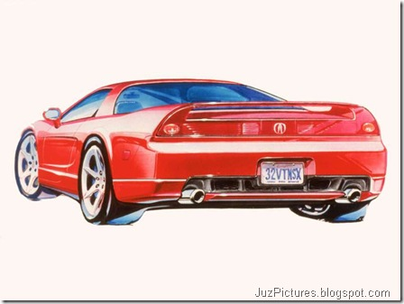 Acura NSX sketches - Design Sketches2