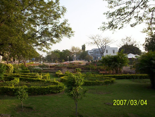 view of Hyderabad University campus, Hyderabad