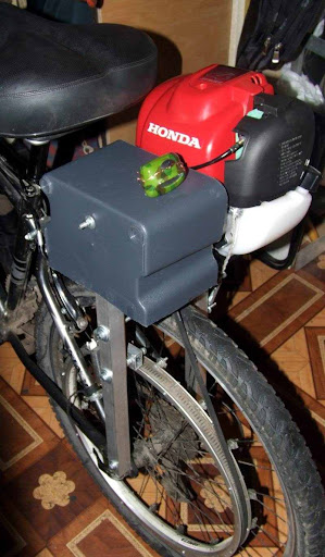 Мотовел с Honda GX35 4Т