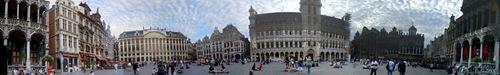 Брюссель, центральная площадь