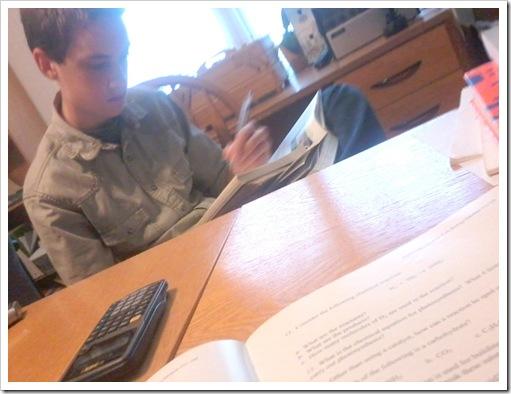 christian doing school