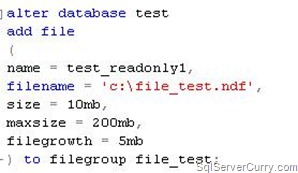 SQL move filegroup