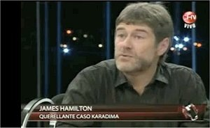 James Hamilton en Tolerancia Cero, Chilevision