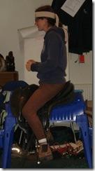 A balanced rider