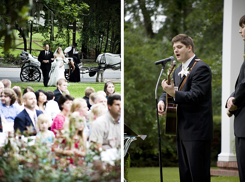 Wedding Have You Ever Been To Where The Groom Sings A Special Song That He Wrote For Her AS She Walks Up Aisle What It Blew My Emotions