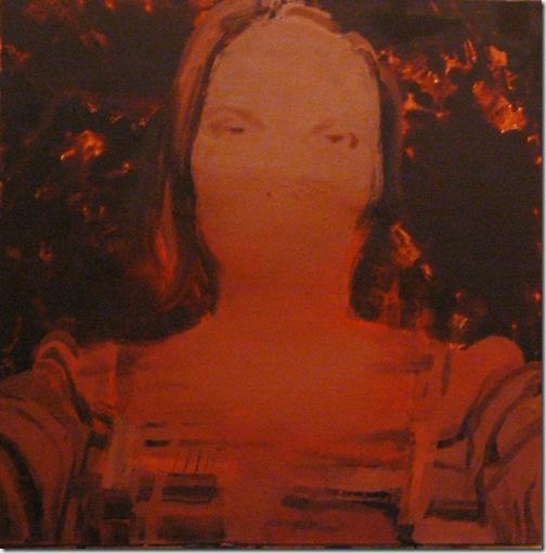 Joanna Pawlik,bez tytułu2 , 60x60cm, olej na płótnie, 2007