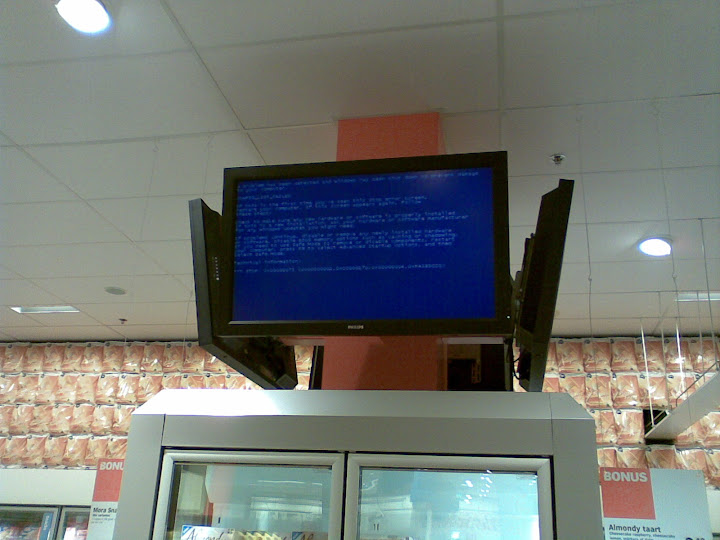 blue screen of AH