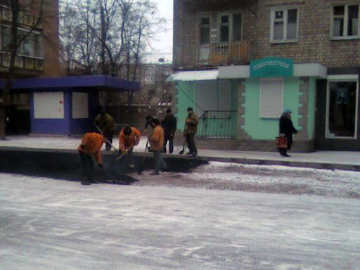 Укладка асфальта в Украине