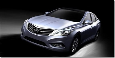 Hyundai Azera  Grandeur revealed - first images 2011 1271251572586557616