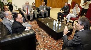 Reuniçao da CCJ com o TSE
